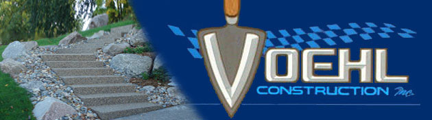 Voehl Construction Inc. is a Concrete and Masonry company located in Prior Lake, MN.  A Concrete & Masonry Contractor providing block work and cement work since 1987.