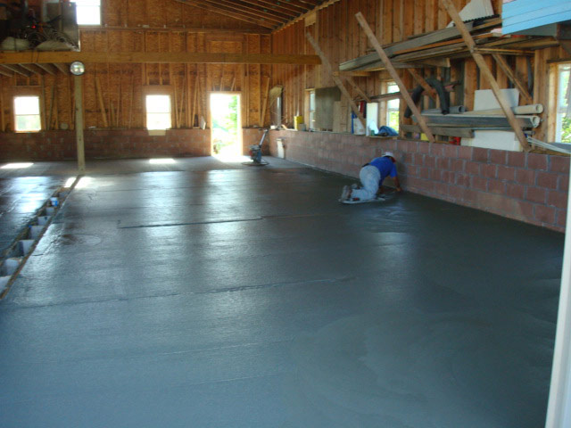 Pouring Concrete In An Existing Pole Barn : Pouring concrete floor in existing pole barn wikizie